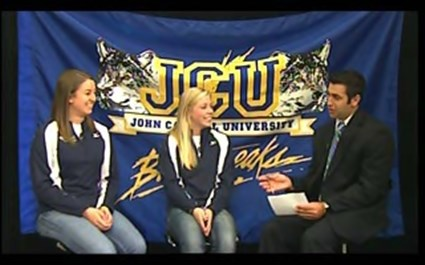 JCU Volleyball Players Share The