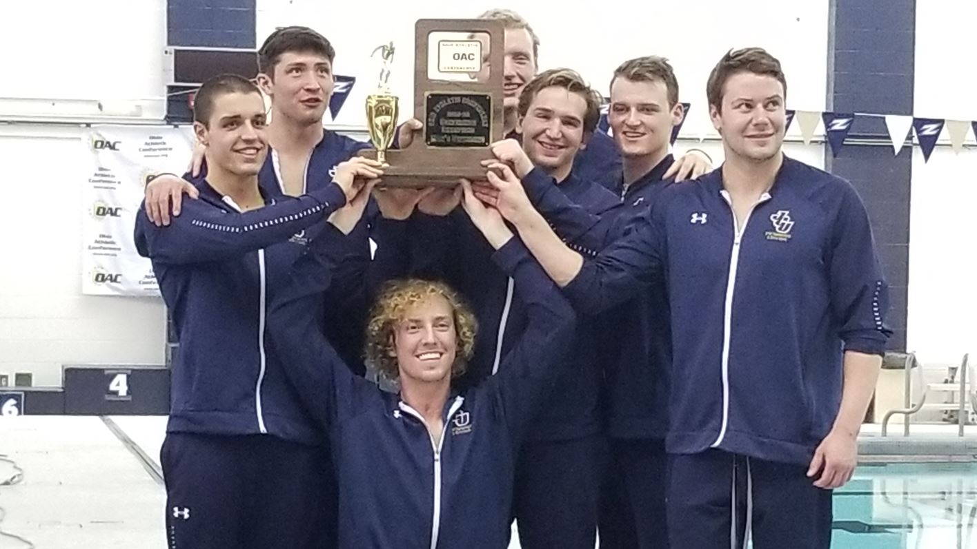 The Seniors celebrate a 4th consecutive OAC trophy